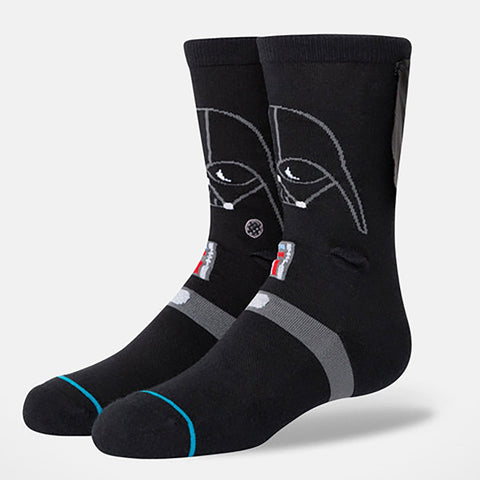 Stance Casual Kid's Crew Sock- 3D Darth