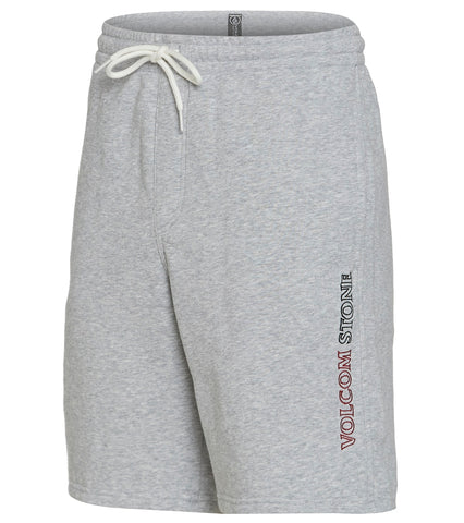 Volcom Mens Volometrical Fleece Sweat Shorts