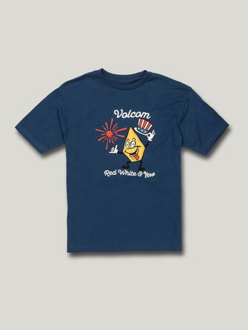 Volcom Yew S/S Tee little Boys Blue