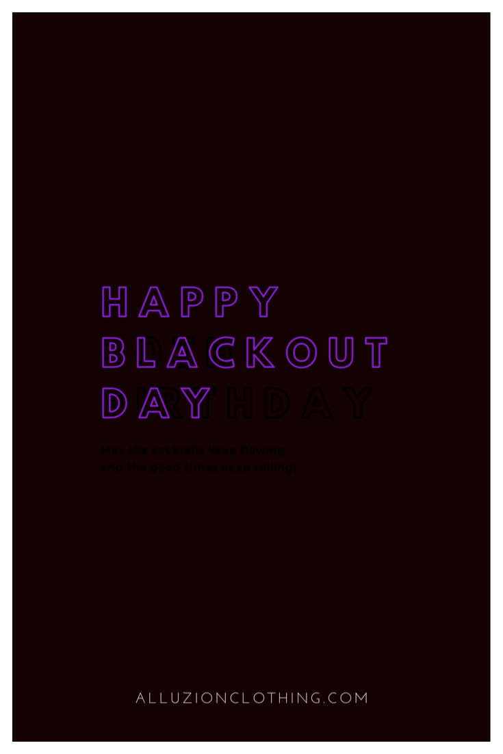 #BLACKOUTDAY2020