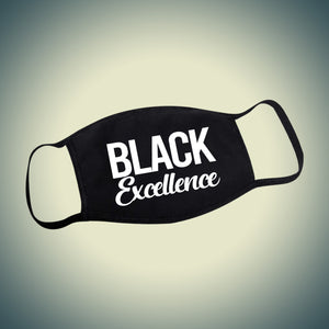 Black Excellence Face Mask