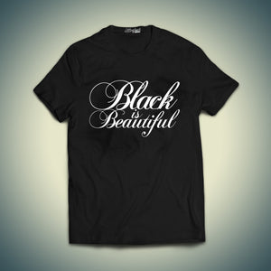 Black is Beautiful Calligraphy T-shirt