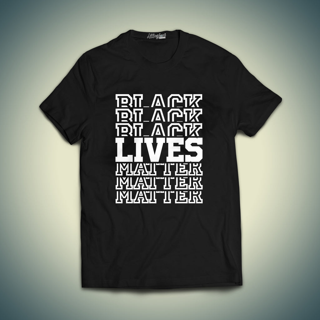 Black Lives Matter Printed T-shirt