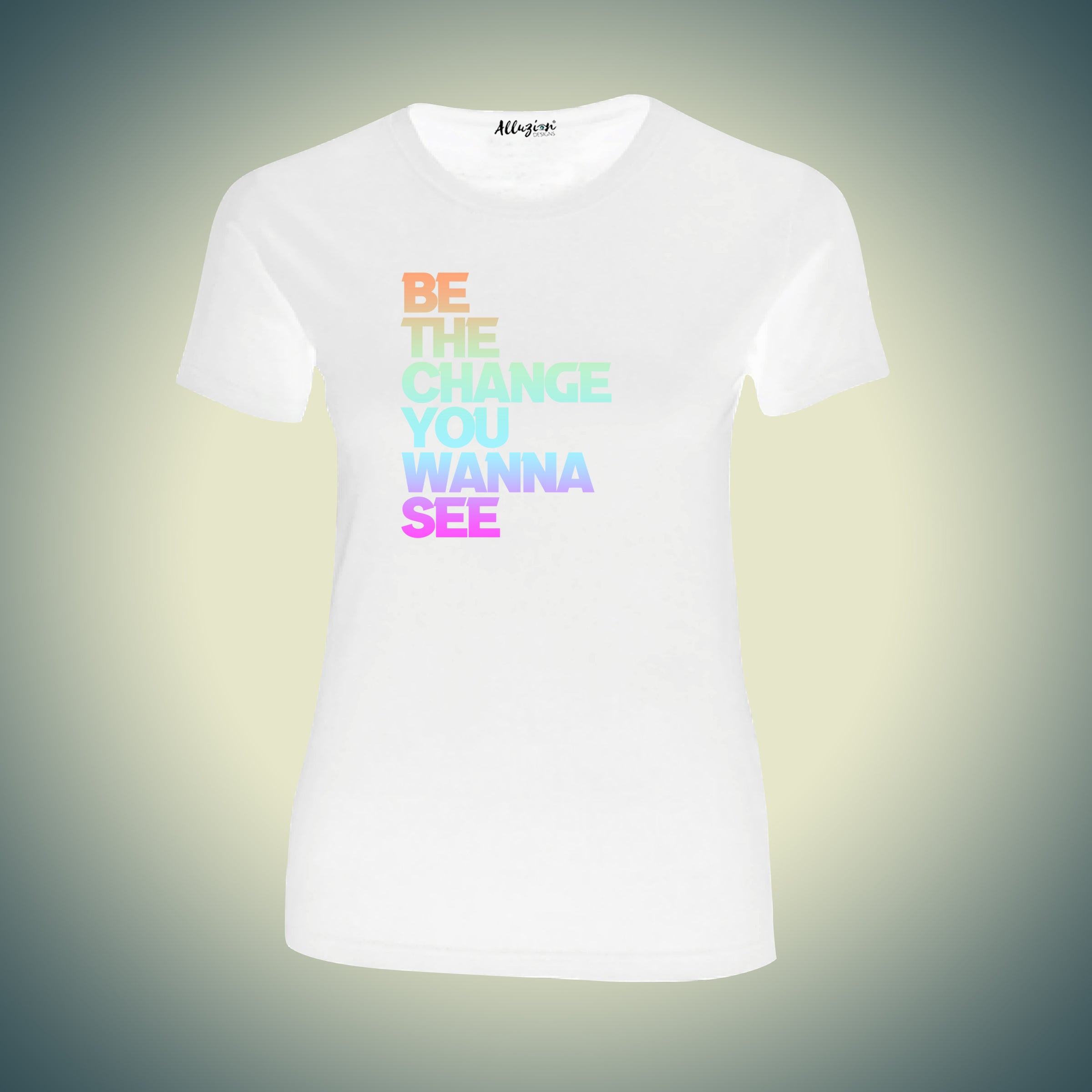 Be the Change You Wanna See Graphic T-shirt
