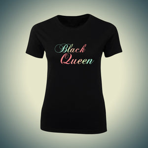 Black Queen Fitted T-shirt