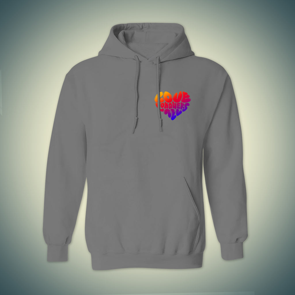 Love Conquers All Valentine's Day Hoodie