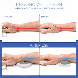 Scrollable Ergonomic Wrist Rest Pad