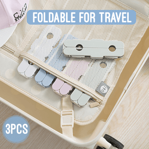 Foldable Travel Closet Hanger (3PCS)