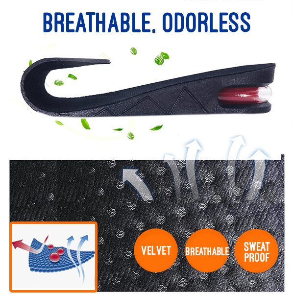 Unisex Height Boost Insoles