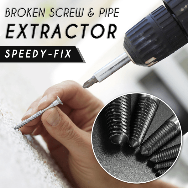 Speedy-Fix Broken Screw & Pipe Extractor