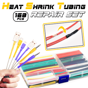 Heat Shrink Tubing Repair Set (168 PCS)