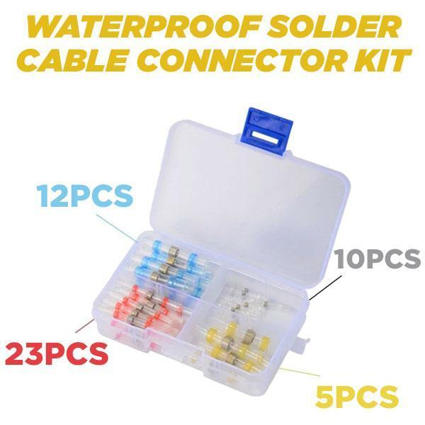 Waterproof Solder Cable Connector Kit (50PCS)