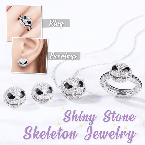 Shiny Stones Skeleton Jewelry