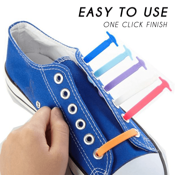 Tying-Free Elastic Shoelaces