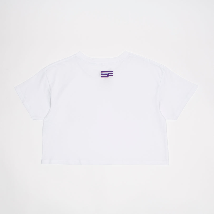 """INSIGNIA"" CROP T-SHIRT"