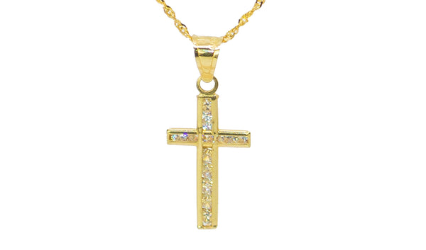 Mini Cruz Necklace