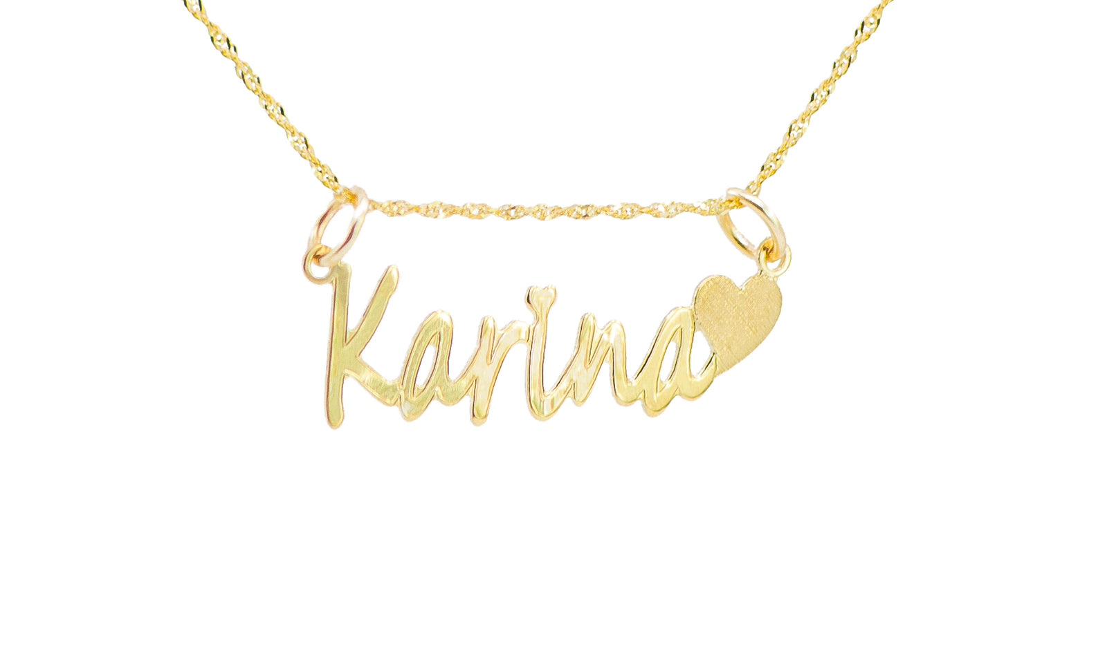 PERSONALIZED CORAZON NECKLACE