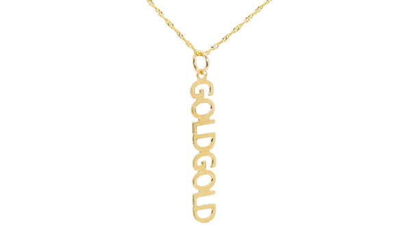 PERSONALIZED DROP NAME NECKLACE