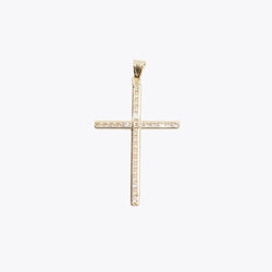 Glitter Cross Pendant