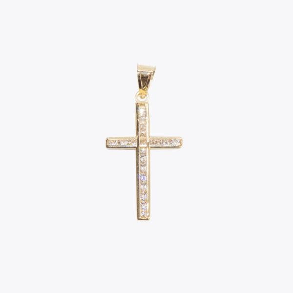GG Mini Cross Pendant