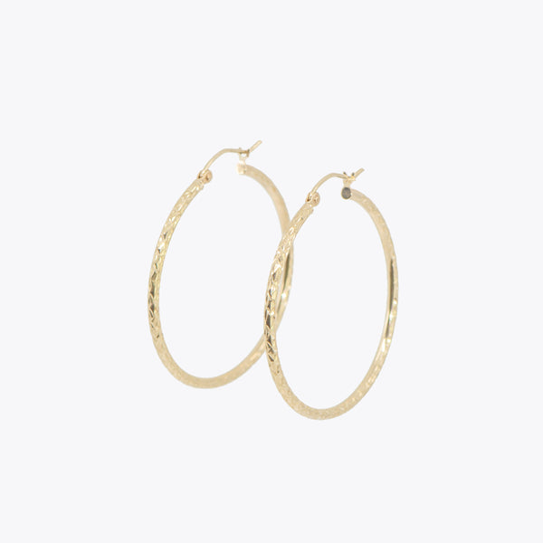 Mia Classic Medium Hoops