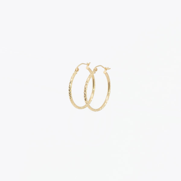 Twisted Medium Hoops
