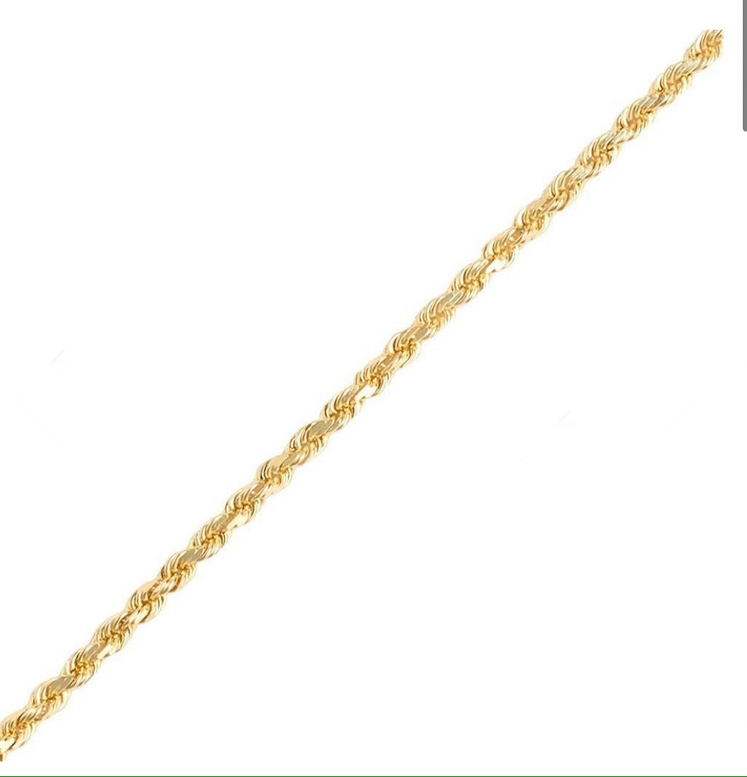 CLASSIC ROPE NECKLACE 4mm