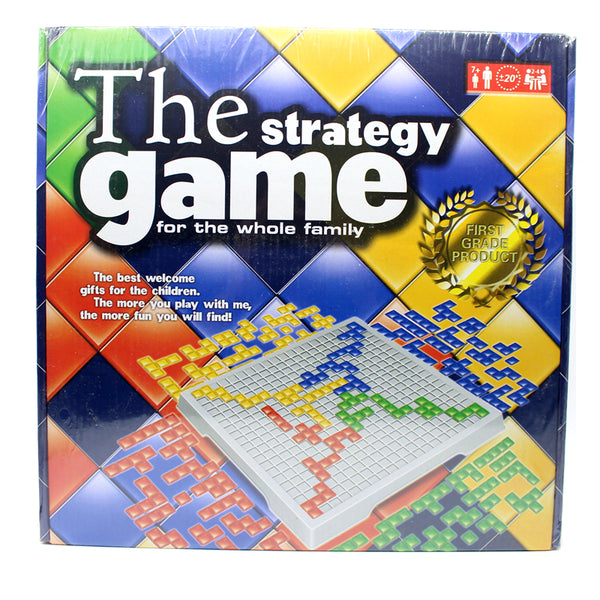 The Strategy Game 484 Squares Game  For Children Russian Box Series indoor games