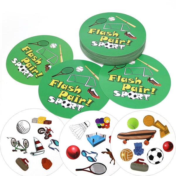 English version sport board games flash pair spot For Party/Family/Friends Easy Play