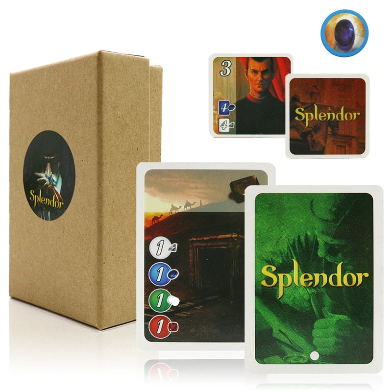 Splendor Board Game full English version for home party game