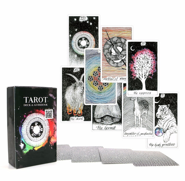 Acient Tarot deck 78 cards - beautiful master grade design - Ebook  for women