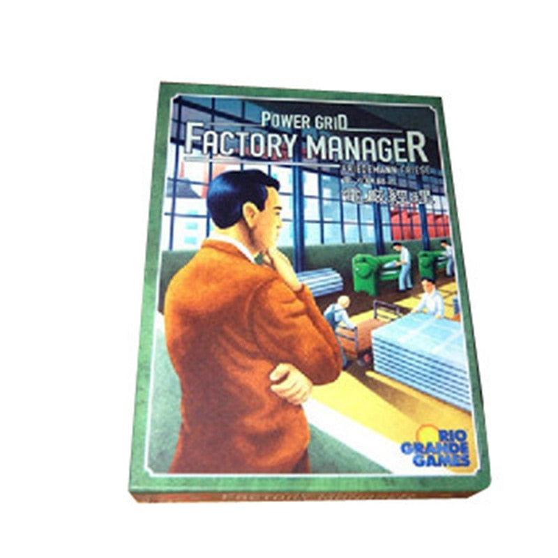 Power Grid Manager Board Good Businessman 2-5 Players To Play Game