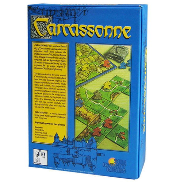 2-5 Players Cards Game  Carcassonne Board Game For Party/Family/Friends