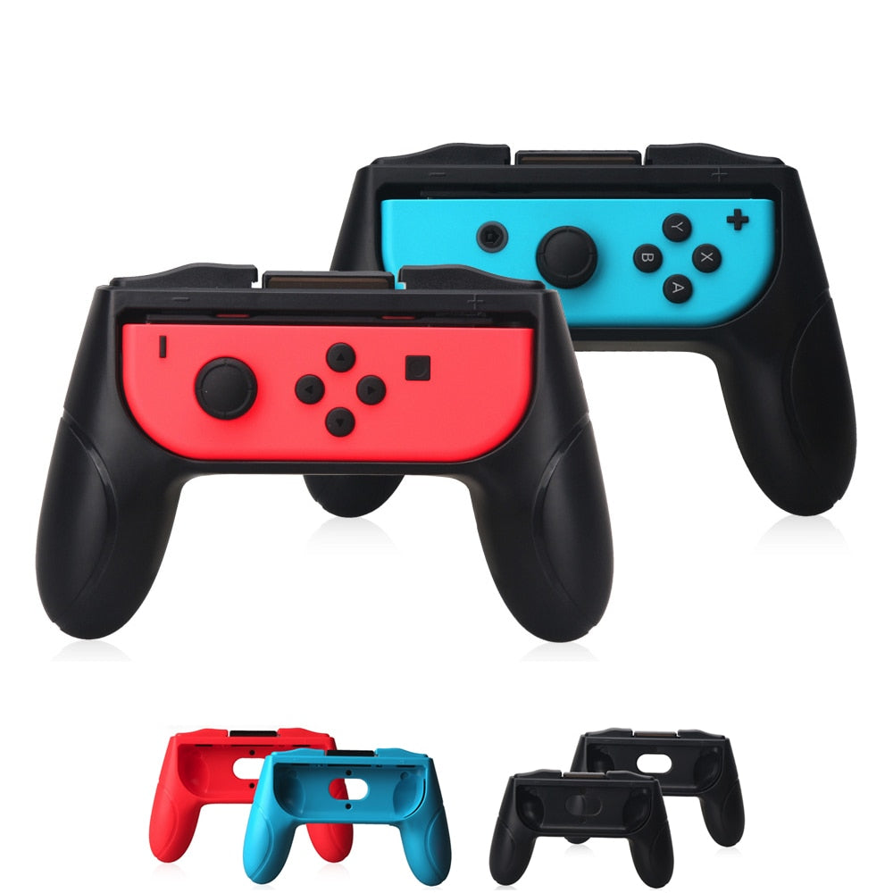 2 pieces Gamepad Grip Handle Stand Holder for Nintend Switch