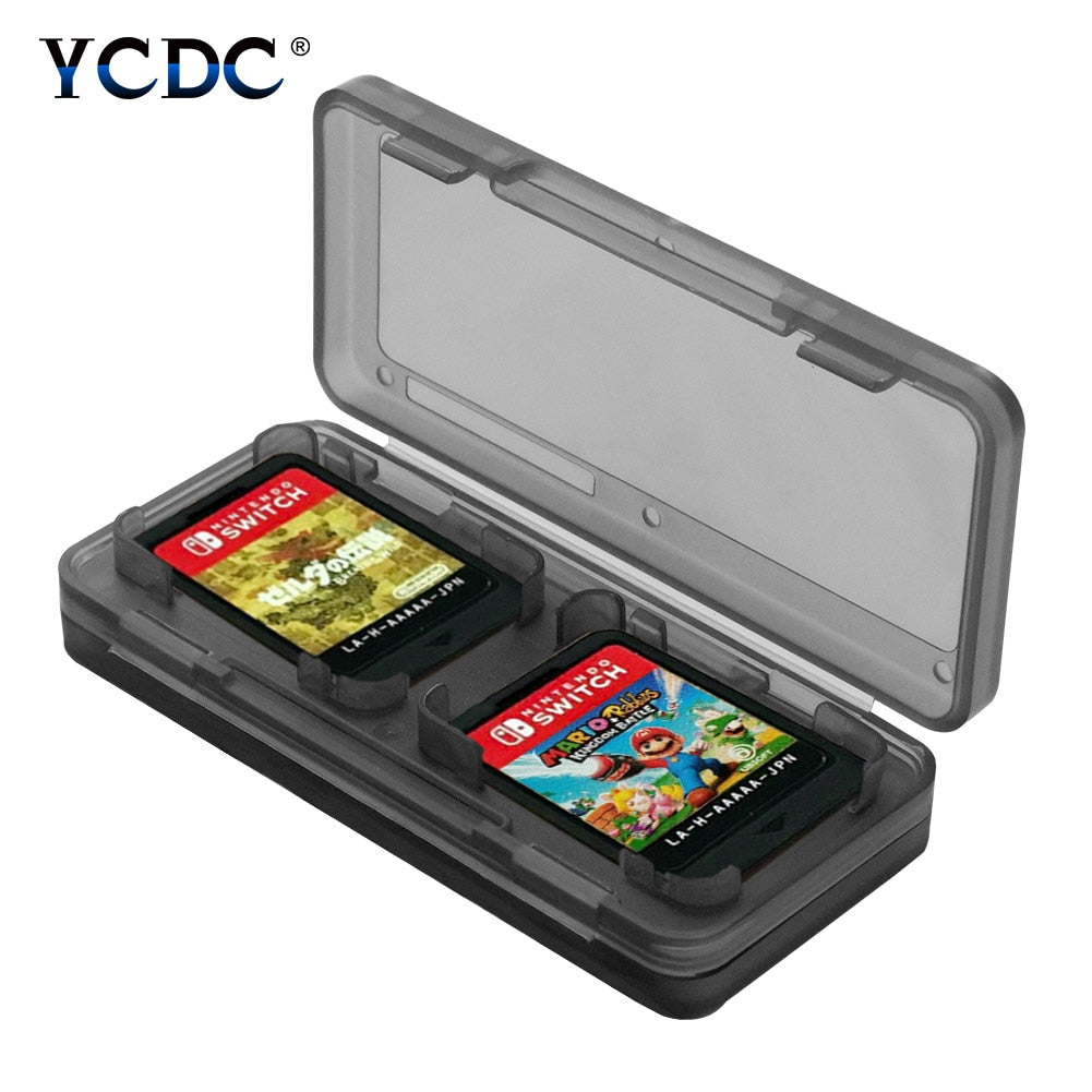 Portable 4-in-1 Game Card Case Holder For Switch Storage Box Waterproof