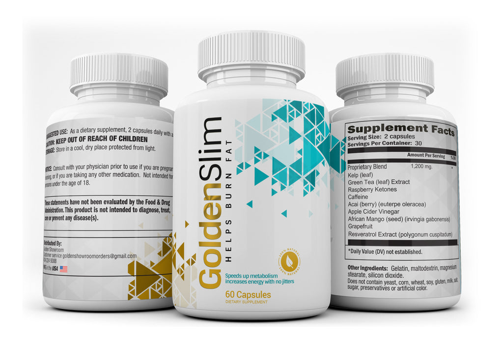 Golden Slim Weight Loss Pills