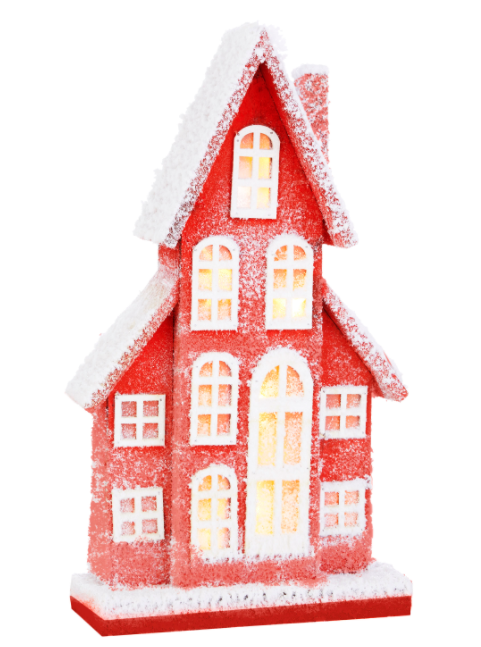 "Lighted House - 19"" - The Kemble Shop"