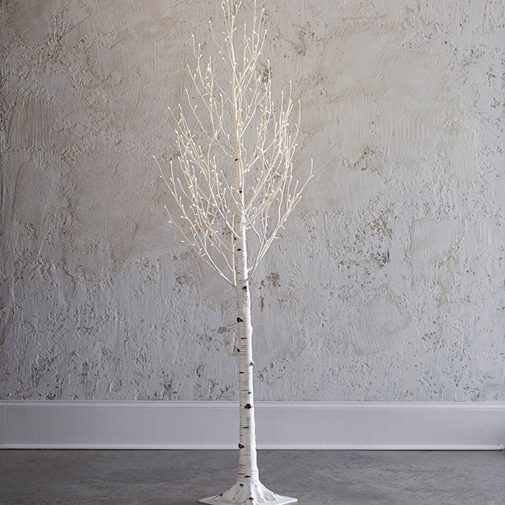 Lighted Birch Tree - 7' - The Kemble Shop