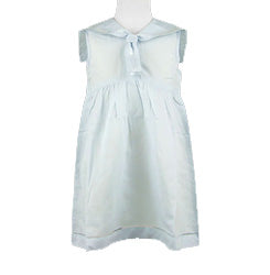 Girls Blue Sailor Childrens Dress - The Kemble Shop