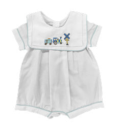 Boys Choo Choo Romper - The Kemble Shop