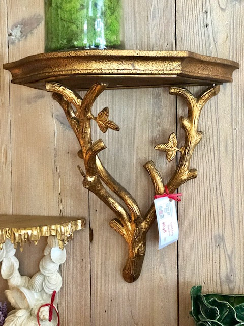Gold Twig Brackets - The Kemble Shop