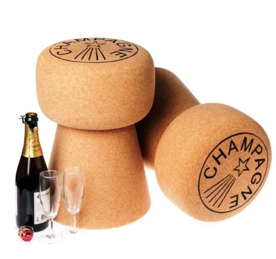 Custom Dom Champagne Cork Stool - The Kemble Shop