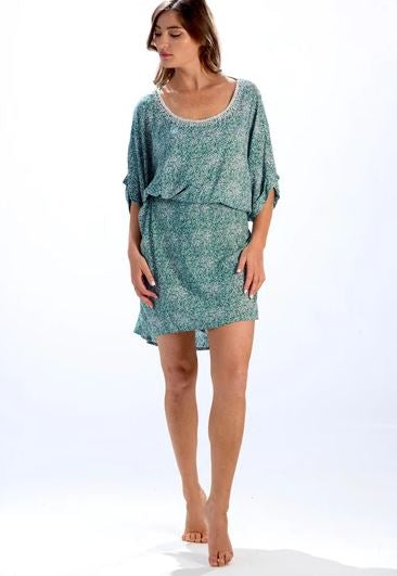 Jade Green Susan Dress- Walker & Wade - The Kemble Shop