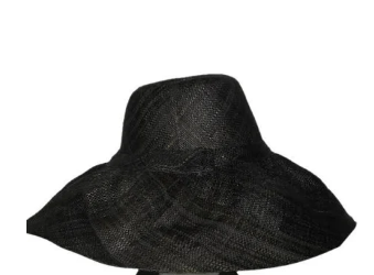 5 Black Palm Beach Classic Rattan Hat - thekembleshop-2