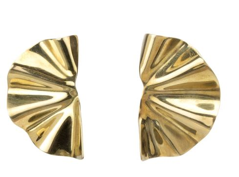 Bidu Fanned Stud Earrings - The Kemble Shop