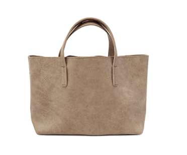 Sand Medium Half Tote - The Kemble Shop