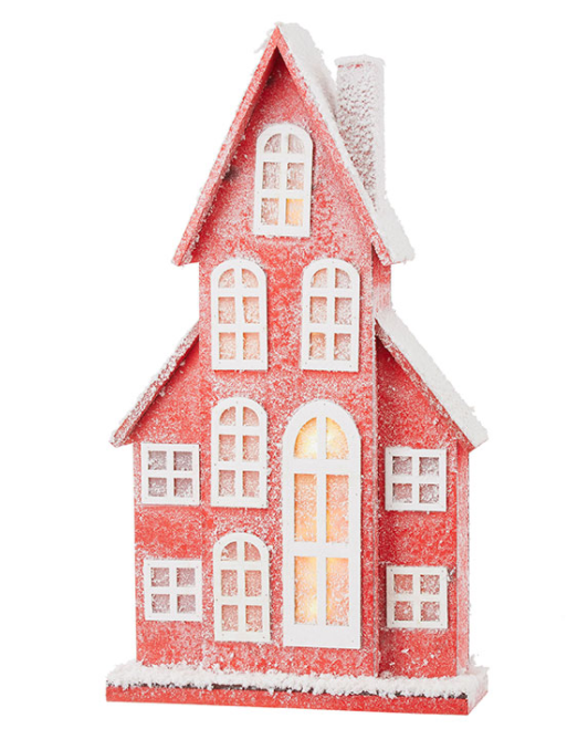 "Lighted House - 30.5"" - The Kemble Shop"