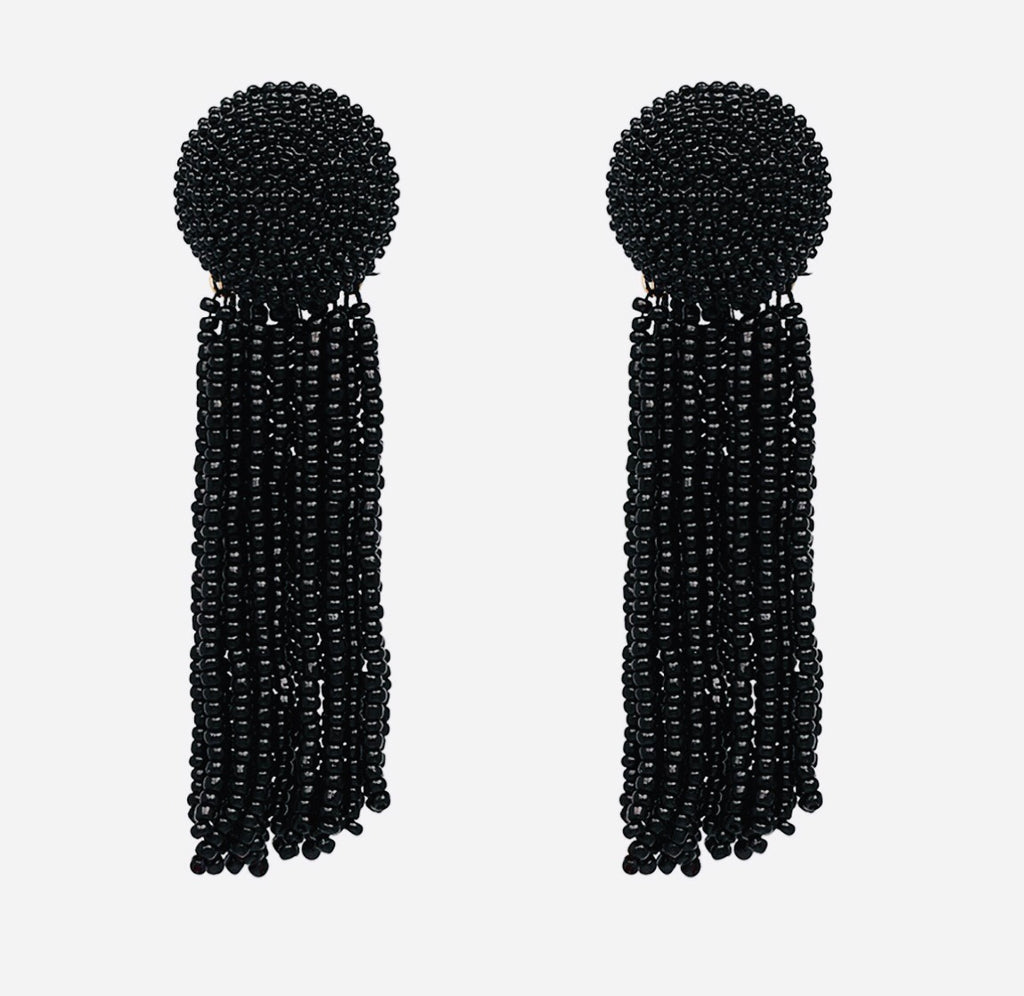 Beaded Night Earrings - The Kemble Shop