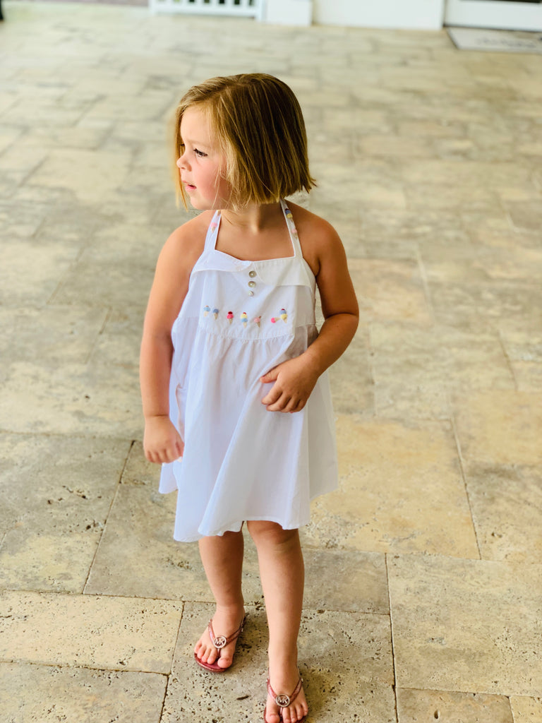 Girls Ice Cream Cone Dress - thekembleshop-2