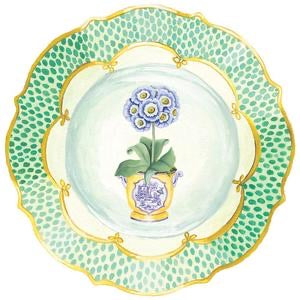 Primroses Die-Cut Placemats - The Kemble Shop